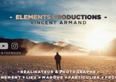 Elements Productions Vincent ARMAND